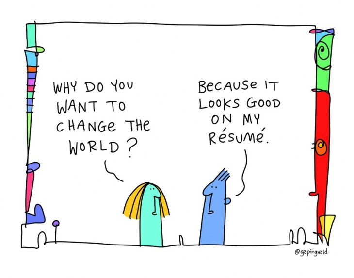 why-change-world-resume